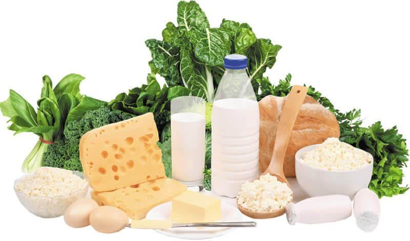Alimentos ricos em calcio ajudam a prevenir a osteoporose