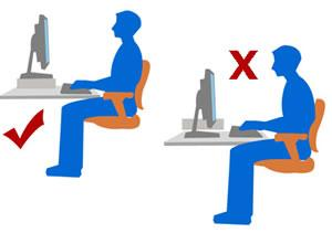 uso do computador causa má postura