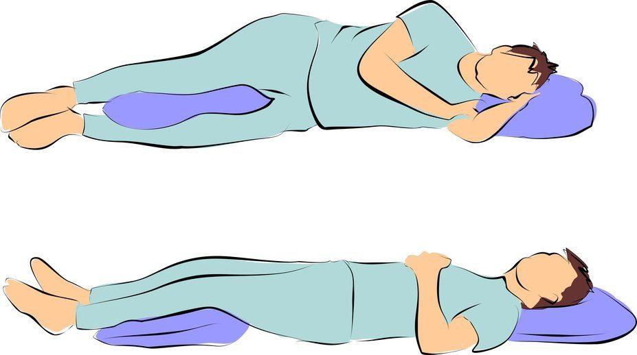 Melhores posições para deitar
