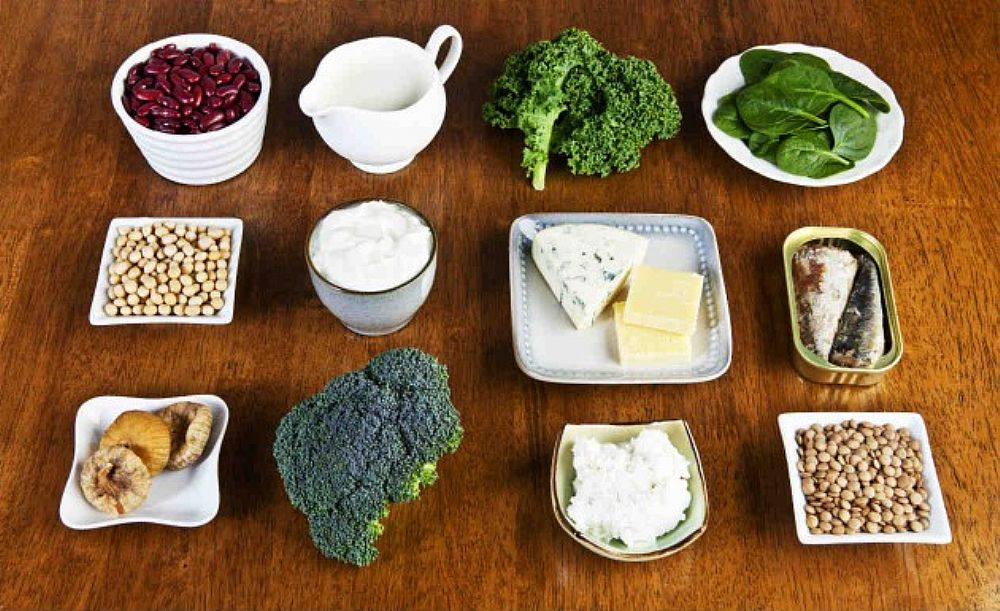 alimentos calcio osteoporose