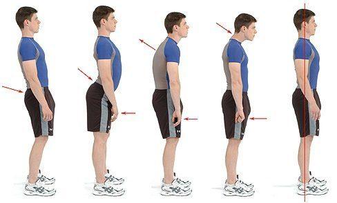 Postura evita dores nas costas