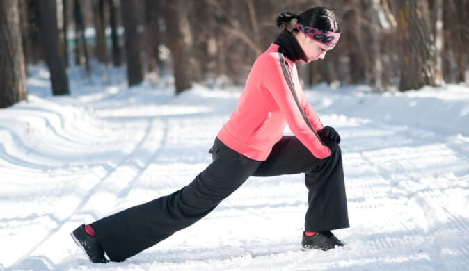 exercicio no inverno evita dor nas costas