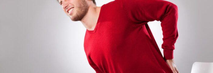 Entorse na coluna é uma das principais causas de dor lombar