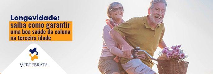 Longevidade: saiba como garantir uma boa saúde da coluna na terceira idade