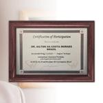 Certificado Endoscopia da Coluna MaxMoreSpine