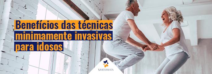 Benefícios das técnicas minimamente invasivas para idosos